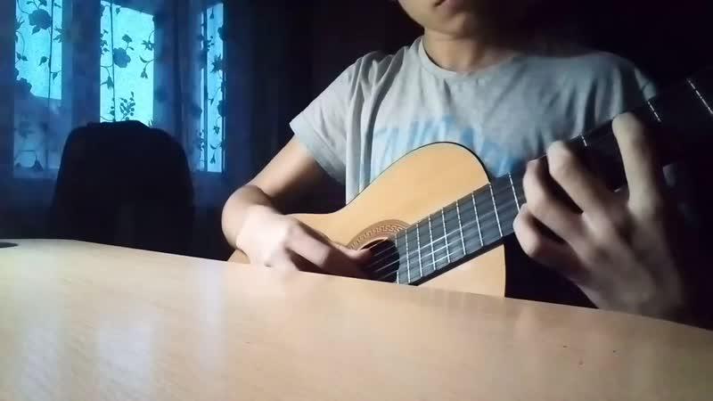 Seven Nation Army на гитарке :D