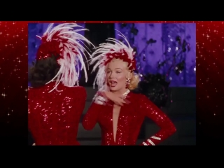 Marilyn Monroe  Jane Russell -Two little girls from Little Rock