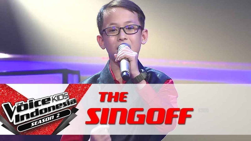 Adi Kun Anta (Jadi Diri Sendiri) | Sing Off | The Voice Kids Indonesia Season 2 GTV 2017