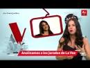 Cande Molfese falando sobre a Tini em uma Live ontem do programa LaVozArgentina. - Vídeo completo
