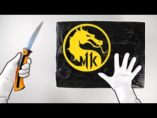 [therelaxingend] unboxing mortal kombat 11 mystery boxes! ps4 special controller, headset, collector's edition...
