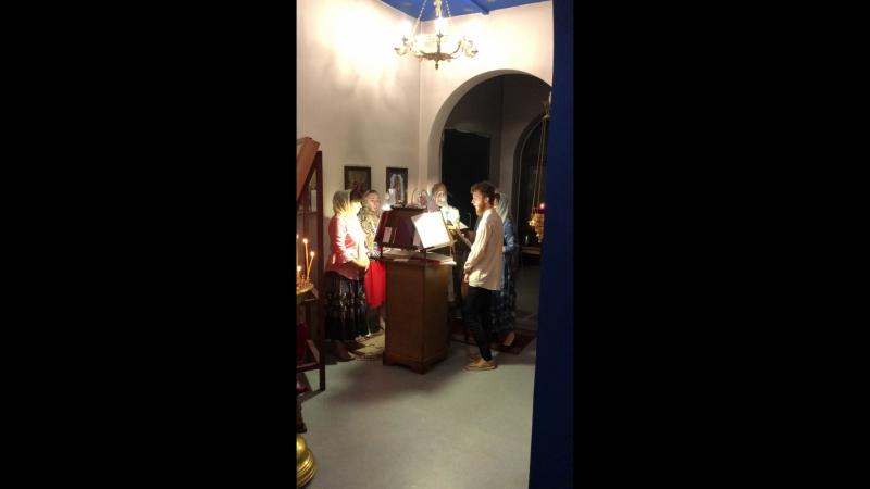 Служба в Храме св. вмч. Димитрия Солунского на Казанскую