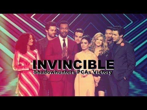 INVINCIBLE Shadowhunters PCAs Victory