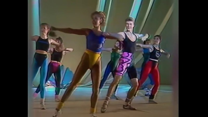 80's Soviet Fitness Vs San Fran-disco