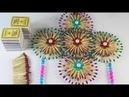 দিয়াশলাইয়ের কাঠি দিয়ে সুন্দর ঘর সজ্জা তৈর 249