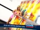 Musa do Santos cumpre promessa e faz ensaio sensual