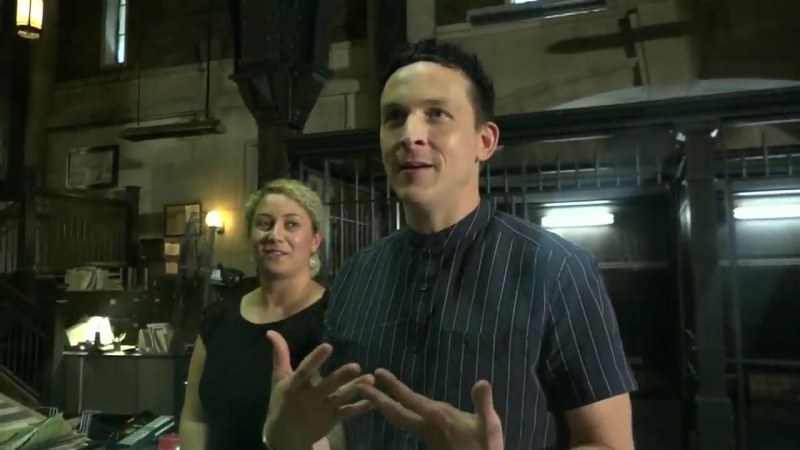 Officials say TV and Film production in NYC is at an all-time high. - So I got to tour the set of Gotham at Steiner Studios toda