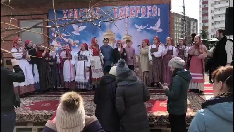 Воробушка воробей - запевает Анастасия Зданович