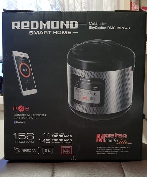 Продам мультиварку REDMOND RMC-M224S