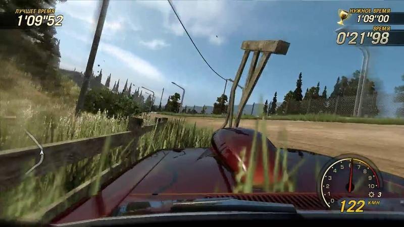 FlatOut Ultimate Carnage - Carrier Bonus - 25 Гонка на время (Pinegrove 3)