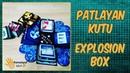 Explosion box, new year gift, Patlayan kutu, Turunçel işleri