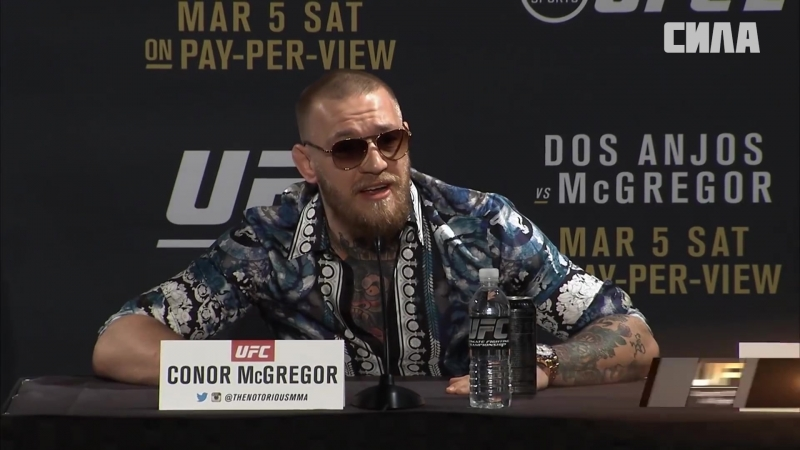 Conor McGregors Best Press Conference Moments