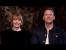 Vue Cinemas l Bryce Dallas Howard Chris Pratt Introduce the Jurassic World_ Fallen Kingdom Trailer