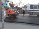 Дороги в Симферополе ремонтируют согласно технологии