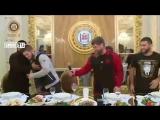 Встреча Рамзана Кадырова с Хабибом Нурмагомедовым - Чечня встретили Хабиба - Ахмат Чечня(0).mp4