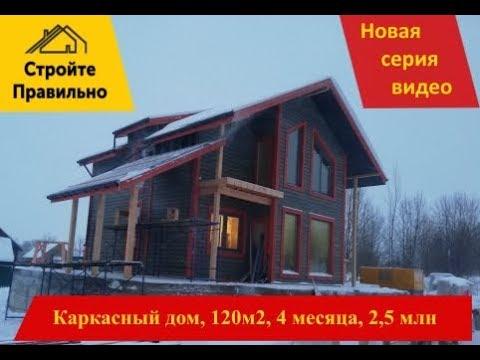 Сколько стоит каркасный дом? Новое видео по итогам строительства.
