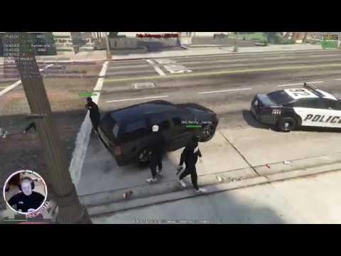 GTA V RP VMP Налёт Police FBI