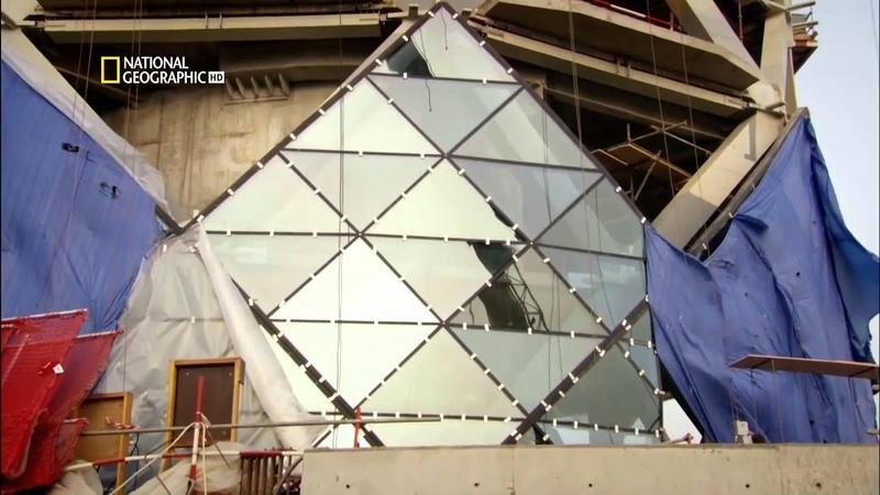 Суперсооружения Падающая башня в Абу-Даби HD 1080p