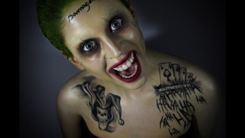 Joker (Suicide Squad) Makeup Tutorial