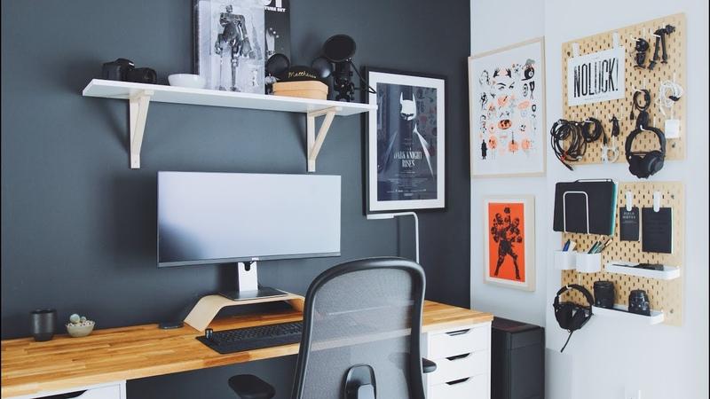 DIY Home Office and Desk Tour — A Designer's Workspace