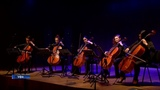 Виолончелисты Национального симфонического оркестра Башкортостана исполнили классику в рок-обработке