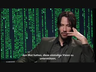 Interviewed about 🎬The Matrix Reloaded. May 2003