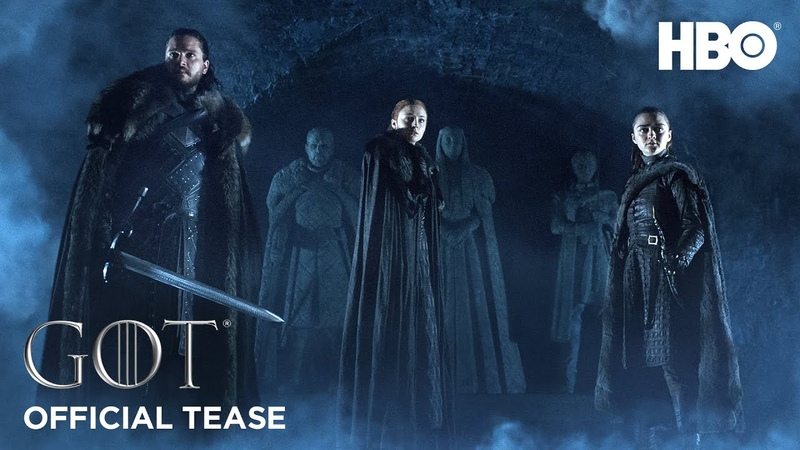 Game of Thrones Season 8 Official Tease Crypts of Winterfell HBO