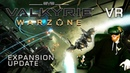 EVE: Valkyrie - Warzone VR PvP gameplay with HTC Vive - Massive update including non-VR support
