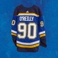 Nikita Soshnikov is letting Ryan OReilly have No. 90 in St. Louis, too. #stlblues