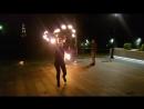 Видео 3 фаершоу команды Firefox на пешеходной зоне
