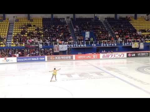 Yuna Kim - 2013 Golden Spin Of Zagreb SP