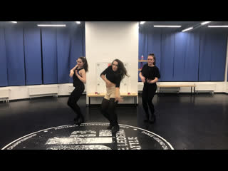 Dancehall female middle school vibe//routine by Olya BamBitta// million styles - miss fatty