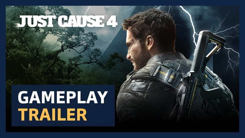 Just Cause 4 Announcement Gameplay Trailer [PEGI]