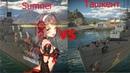 War Thunder Эсминец USS Allen M Sumner vs Лидер эсминцев Ташкент