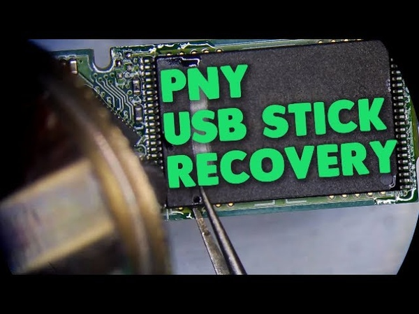 PNY 64GB flash drive recovery | straight from the memory chips