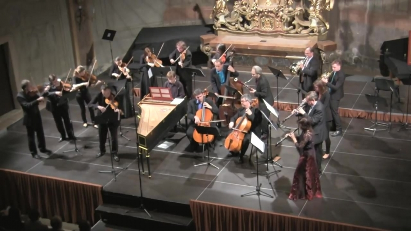 1046 J. S. Bach - Brandenburg Concerto No.1 in F major, BWV 1046 - Capella da camera Praga