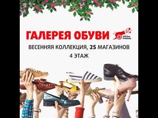 Весенняя коллекция обуви в Мегацентре