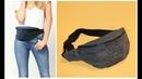 Бананка Летняя сумка на пояс своими руками / Fanny Bag