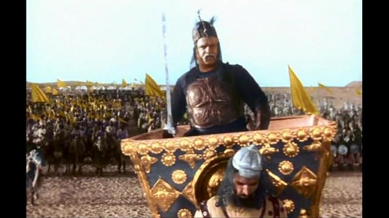Великий могол (1960) Сражение между войсками Акбара и Салима