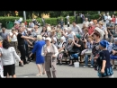 21.07.2018г г Новокузнецк Сабантуй Гости из Татарстана Артур и Марат поют а Зритель танцует!