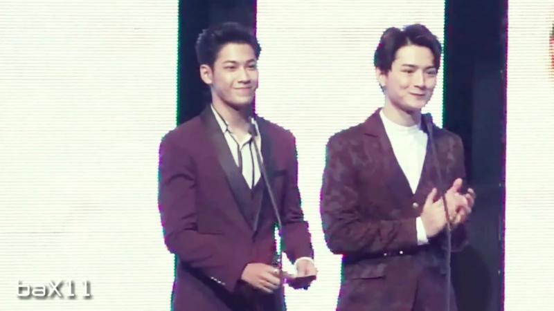 180608 Singto_u0026Krist - Nine Entertain Awards 2018 @ ศูนย์วัฒนธรรมแห่งประเทศไทย