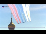 Самолеты над Москвой- какая авиатехника участвовала в параде Победы