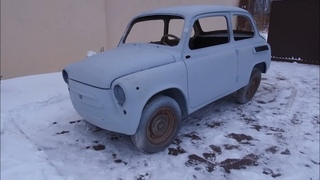 Спасти рядового Горбатого #3 - ЗАЗ-965 «Запорожец» / Реставрация: Кузов готов.