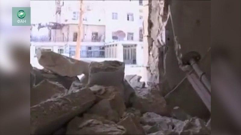 Сирия: боевики провели минометный обстрел в районе Алеппо — видео ФАН
