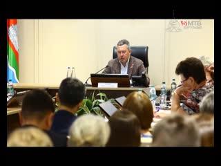 Eженедельное совещание провел Глава Бугульминского муниципального района, Мэр г.Бугульмы Линар Закиров 13.05.19