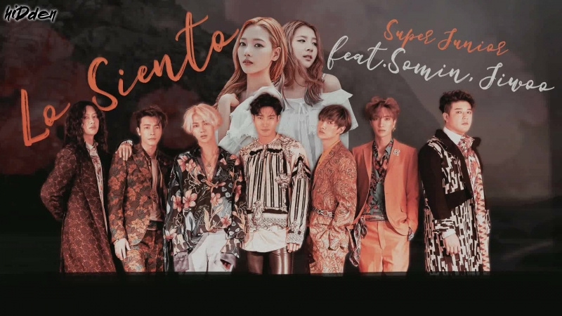 [RUS.SUB.] SUPER JUNIOR – Lo Siento (Feat. Somin Jiwoo)