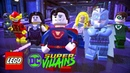 Lego DC Super-Villains. Lego DC Супер-Злодеи. 2 Серия. Готэмская часовая башня.