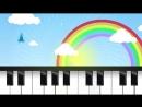 Осень наступила кап кап на ладошку Песенка мультик видео для детей Наше всё