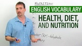 Improve Your English Vocabulary Diet, Health, and Nutrition