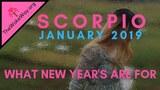 SCORPIO New Year, New You and Lots of Blessings JANUARY 2019 RJ Marmol Tarot